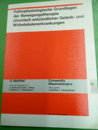 1 von 1 - Pathophysiologische Grundlagen der Bewegungstherapie chronisch entzündlicher Gel