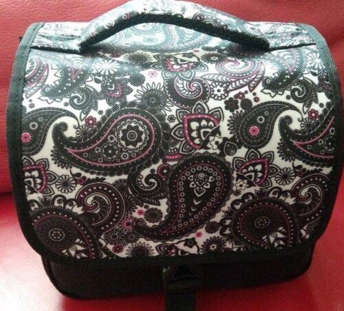 Designer Black Paisley DSLR Camera Bag HAN-E226678849