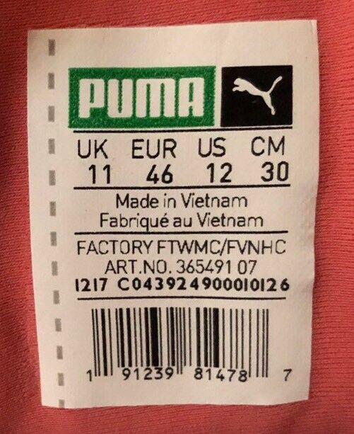 Puma Tsugi Shinsei uomo's Peach Running Shoes 365491 07 Peach uomo's Gold White Size 12 Scarpe classiche da uomo 0a5179