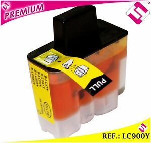 TINTA-COLOR-AMARILLA-LC900-CARTUCHO-AMARILLO-NONOEMBROTHER-LC900Y-COMPATIBLE-MFC