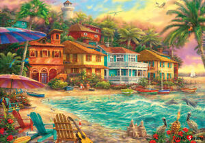 Jigsaw-puzzle-retro-charming-color-dream-beach-town-38-52-cm-500-pieces-tp05-1