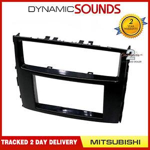 CT23MT23-Double-Din-Stereo-Panneau-Facade-Adaptateur-For-Mitsubishi-Shogun-2014-gt
