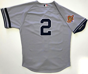 detailed look 72119 80648 DEREK JETER 1996 WORLD SERIES NEW YORK YANKEES MAJESTIC ...