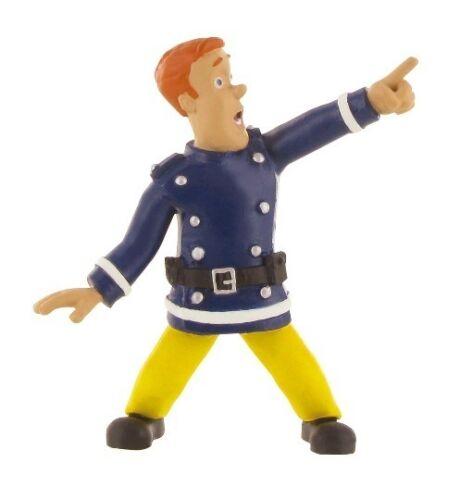 Sam el bombero Elvis Penni Steele Norman personaje dentro del juego juego figuras comansi