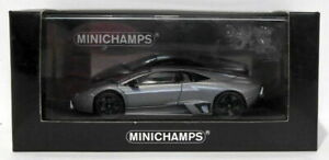 Minichamps-Escala-1-43-400-103950-2007-Lamborghini-revention-GRIS-MATE