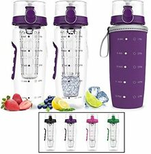 Bevgo Fruit Infuser Water Bottle - Large 1 Litre - Save Your Money And Hydrate