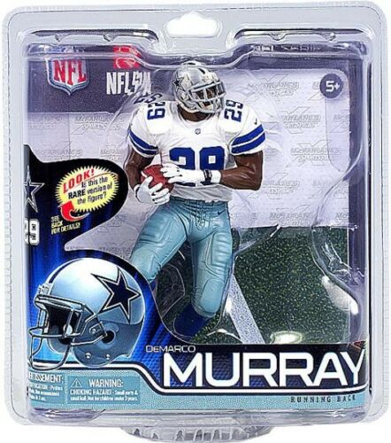 NFL Sports Picks Series 31 DeMarco Murray Action Figure White Jersey