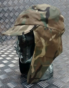 Genuine-British-Army-MVP-Goretex-MTP-Multi-Camo-Dog-Trapper-Hat-w-Ear-Flaps-NEW