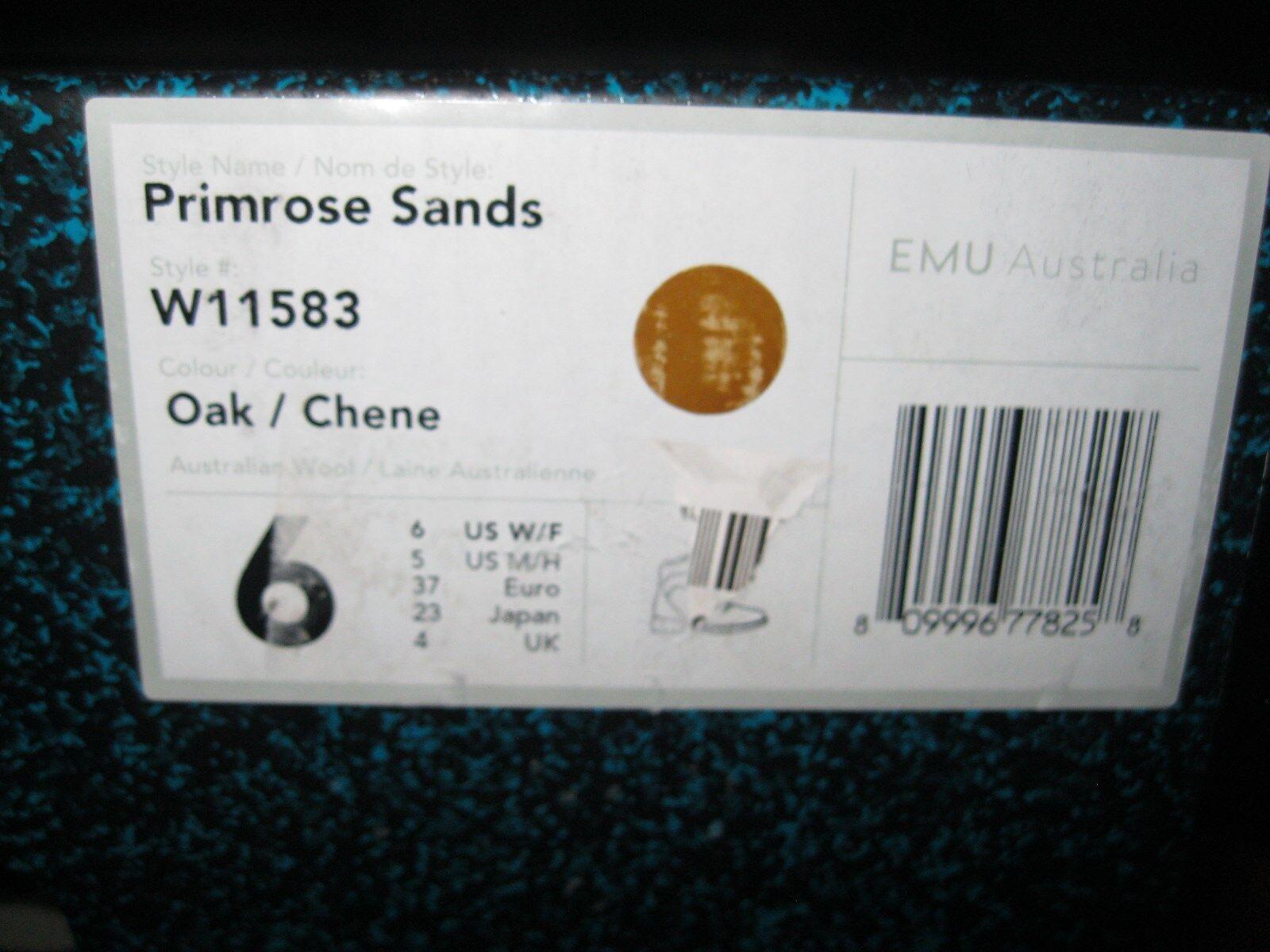 EMU Mujer Nuevo Primrose Arenas Bota Impermeable W11583 Nuevo Mujer En Caja Color Roble cf32a0