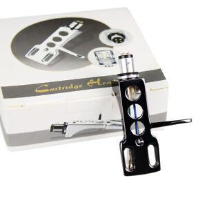 Headshell-glaenzend-schwarz-SME-Tonabnehmer-Systemtraeger-Halterung-in-hochglanz