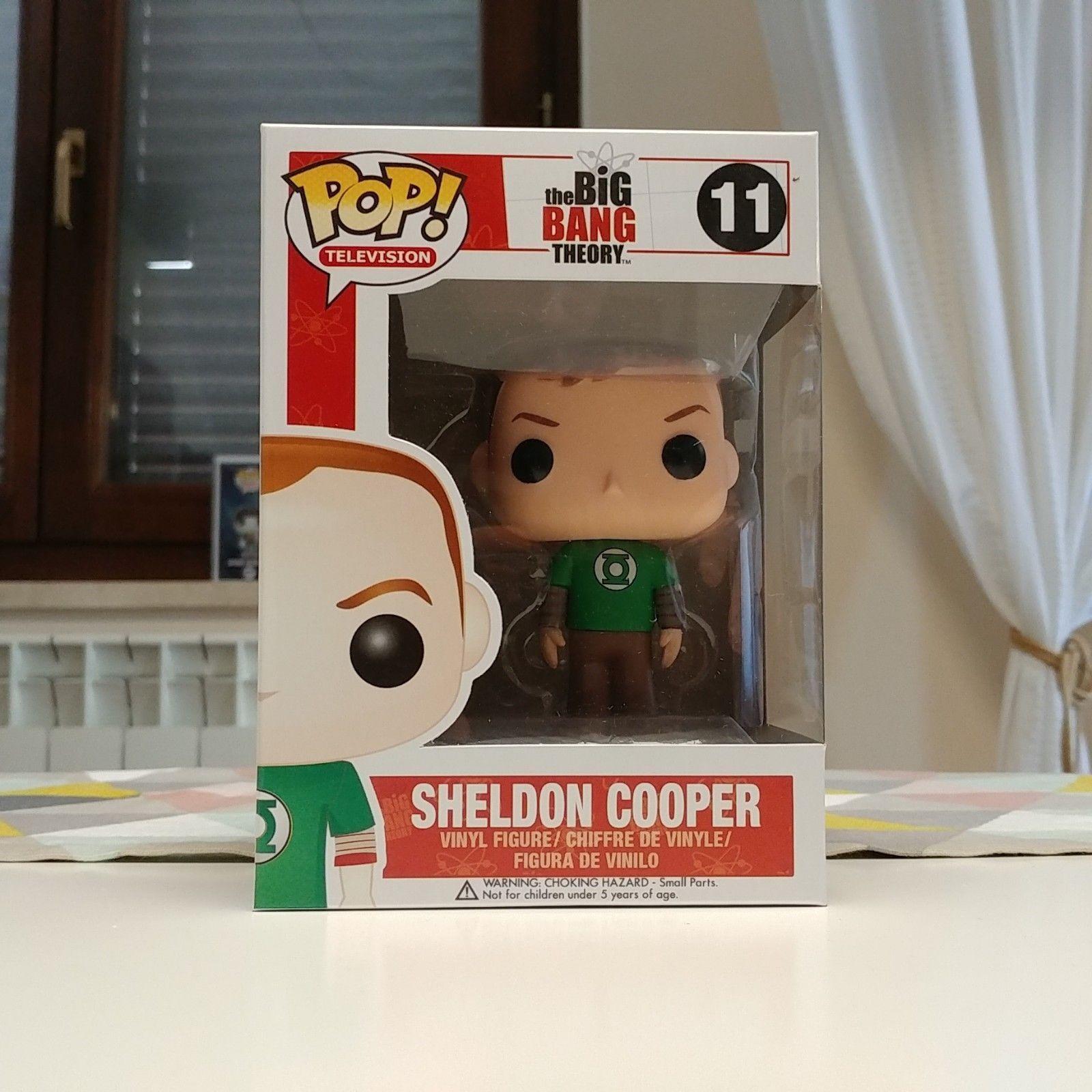 Funko Pop  VAULTED Big Bang Theory - Sheldon Cooper (Inclusa Pop  Projoector)