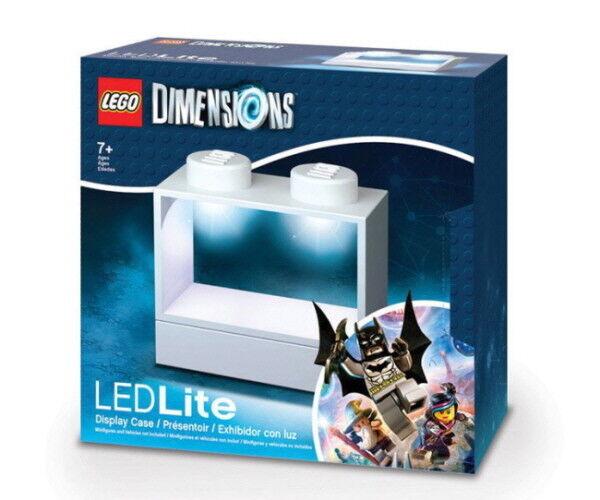LEGO Dimensions LED Light  Display Case bianca  ecco l'ultimo
