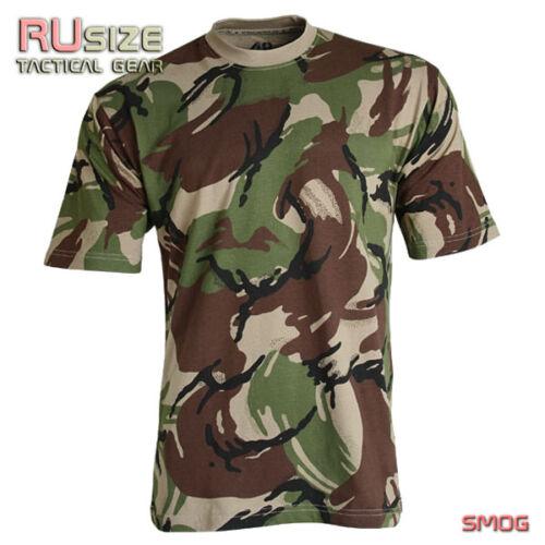 Russian military camo t-shirt SMOG XS-5XL 100/%cotton Army Airsoft Hunting Hiking
