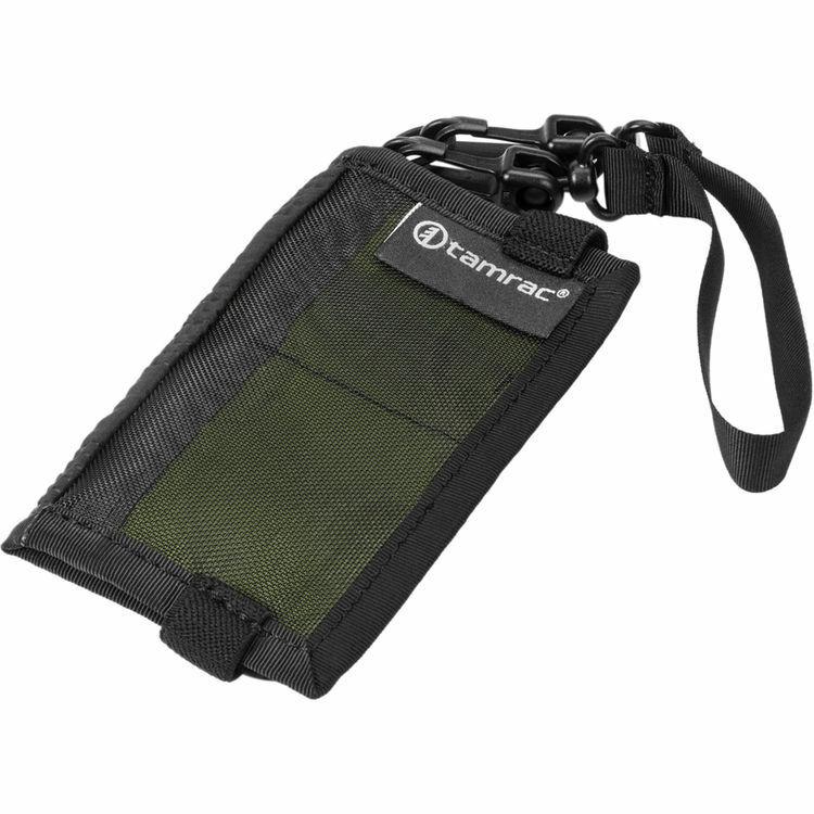 Tamrac Goblin Memory Card Wallet - Holds Four CF Cards - Kiwi - T1155-5252