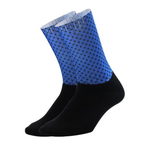 Men Women Compression Sock Outdoor Sports Cycling Road Bicycle Racing Calf Socks