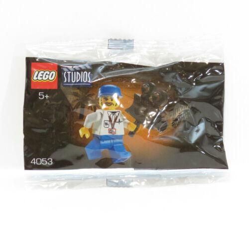 Lego 4053 Studio Cameraman Minifigure Nesquik Promo Polybag Sealed 2001