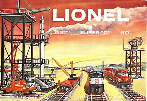 1958 LIONELTOY TRAINS  CONSUMER CATALOG MINT