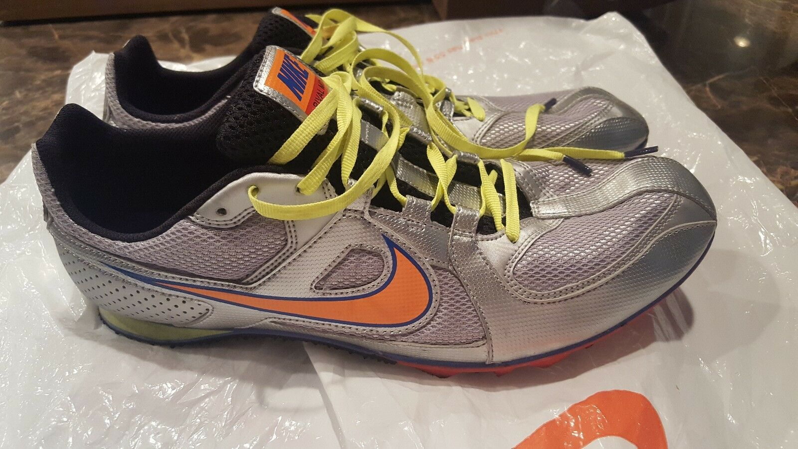 Nike Zoom Rival MD6 Track and Field Shoes Men's Comfortable  Seasonal clearance sale