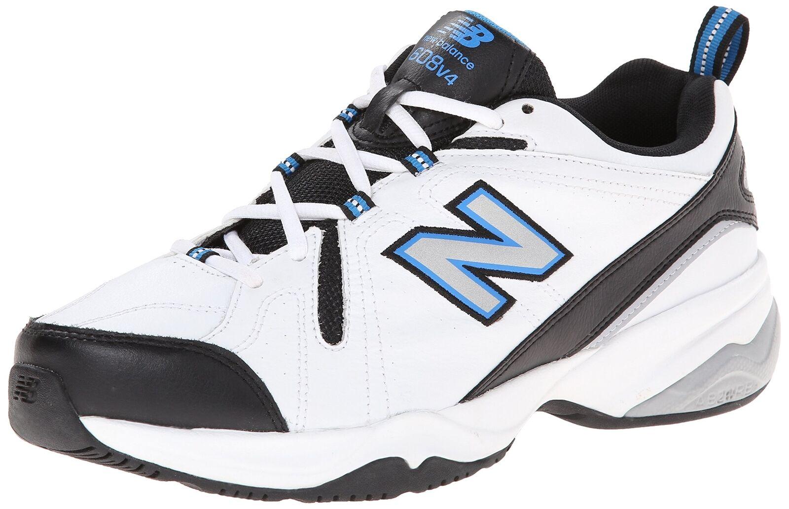New Balance Men's MX608v4 Training shoes White Royal 9.5 D(M) US