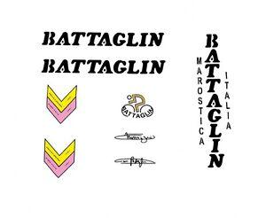 BATTAGLIN-autocollants-velo-transferts-autocollants-Noir-N-10