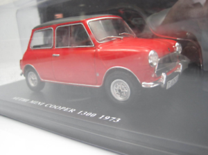 Coche-Authi-Mini-Cooper-1300-Classic-Car-Spain-1973-1-24-IXO-Morris