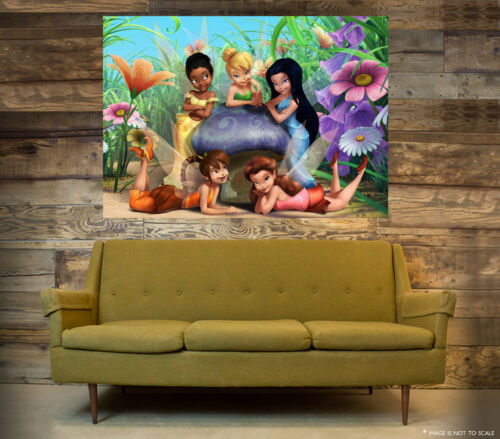 TINKERBELL WALL ART POSTER A1 - A5 SIZES AVAILABLE