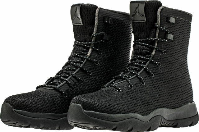 Authentic Nike Jordan Future Boots Black Blk Dark Grey 854554 002 Men size
