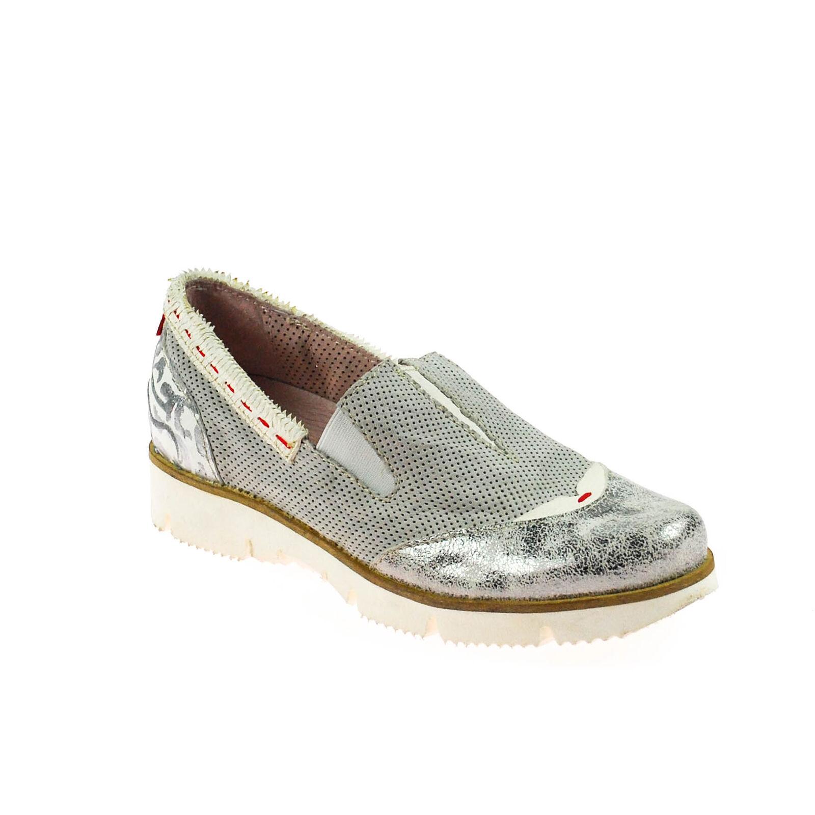 ultimi stili Fascino DONNA mezza Scarpa scarpe scarpe scarpe da ginnastica Pelle Grigio argentoo Bianco Rosso Multicolore  alto sconto
