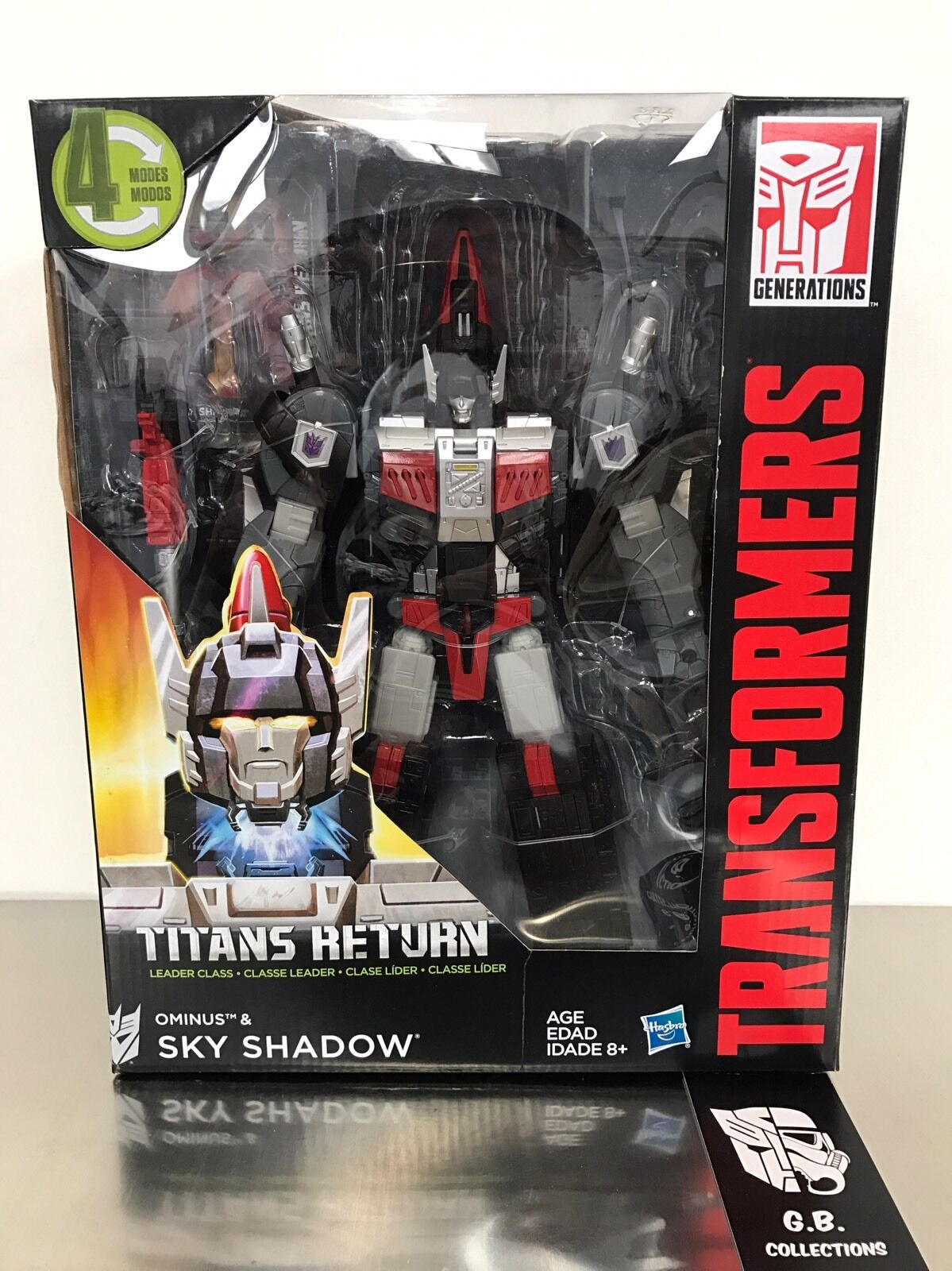 Transformers Titans Return Sky Shadow & Ominus Leader Class Class Class New Sealed 9f974c