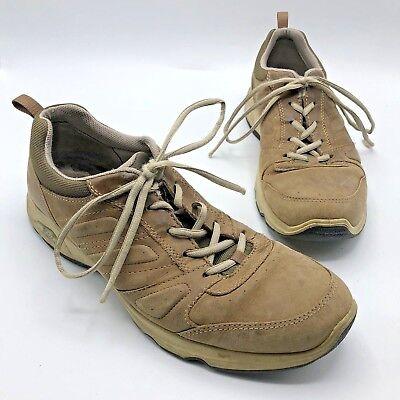 ECCO EPR 4.0 Men Brown Tan Lace Up Sneaker Shoe Size 12 EUR 45 Pre Owned | eBay