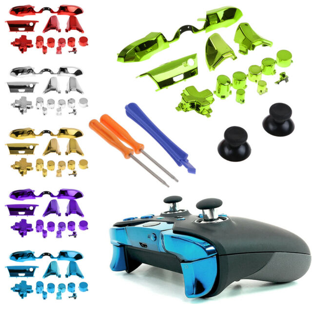 For Xbox One Elite Gamepad Controller Full Set Replacement Buttons Bumper Parts