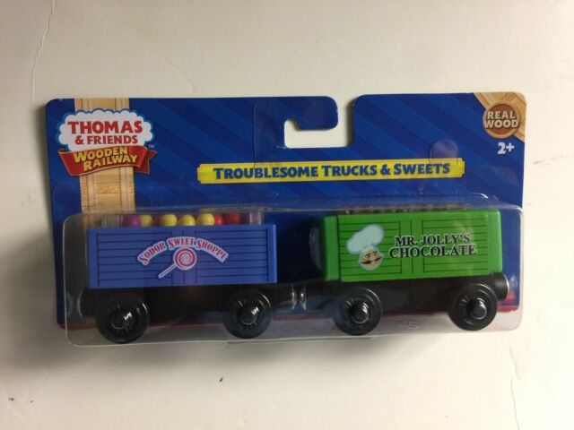 Fisher Thomas The Train Wooden Railway Troublesome Trucks And Sweets
