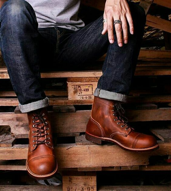 Handmade Uomo Brown Ankle leather boots, Uomo leather boots, New Uomo Ankle boots