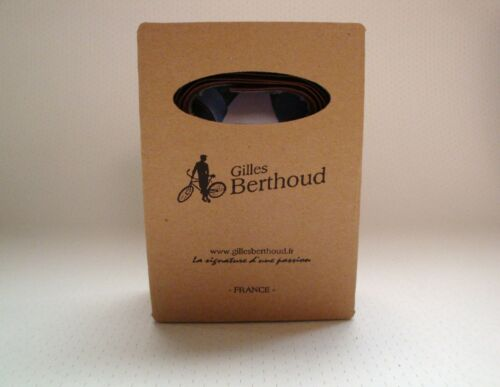 NEW IN BOX GILLES BERTHOUD BROWN LEATHER CALF HANDLEBAR TAPE MADE IN FRANCE