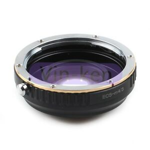 Focal-Reducer-Speed-Booster-adapter-Canon-EF-mount-Lens-to-Micro-4-3-M4-3-Camera