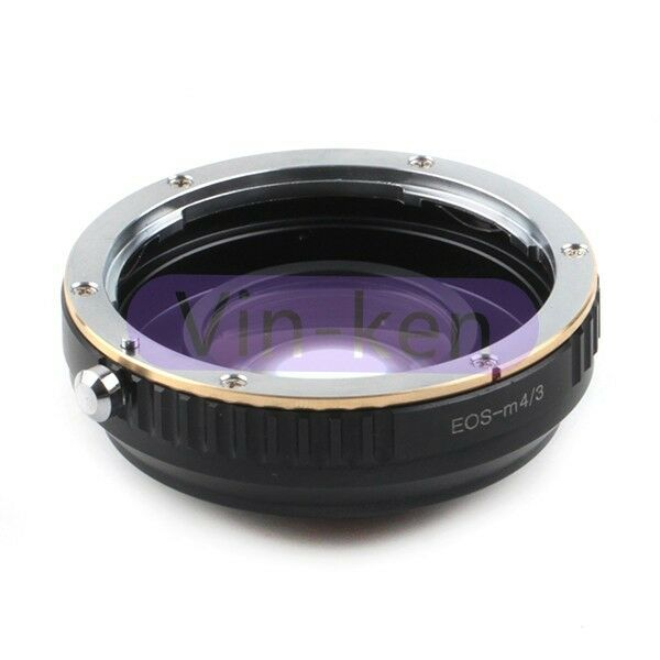 Focal Reducer Speed Booster adapter Canon EF mount Lens to Micro 4/3 M4/3 Camera