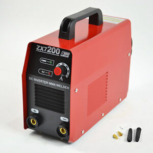 NEW 220V IGBT ZX7-200 DC INVERTER MMA ARC WELDING MACHINE AOFENG FIT USA USE
