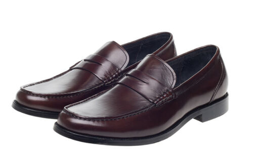 John White WALLACE Loafer ShoesBrown UK11 SRP 120.00