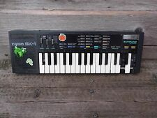 Casio SK-1   sampling keyboard vintage electronic sampler synth  as is project
