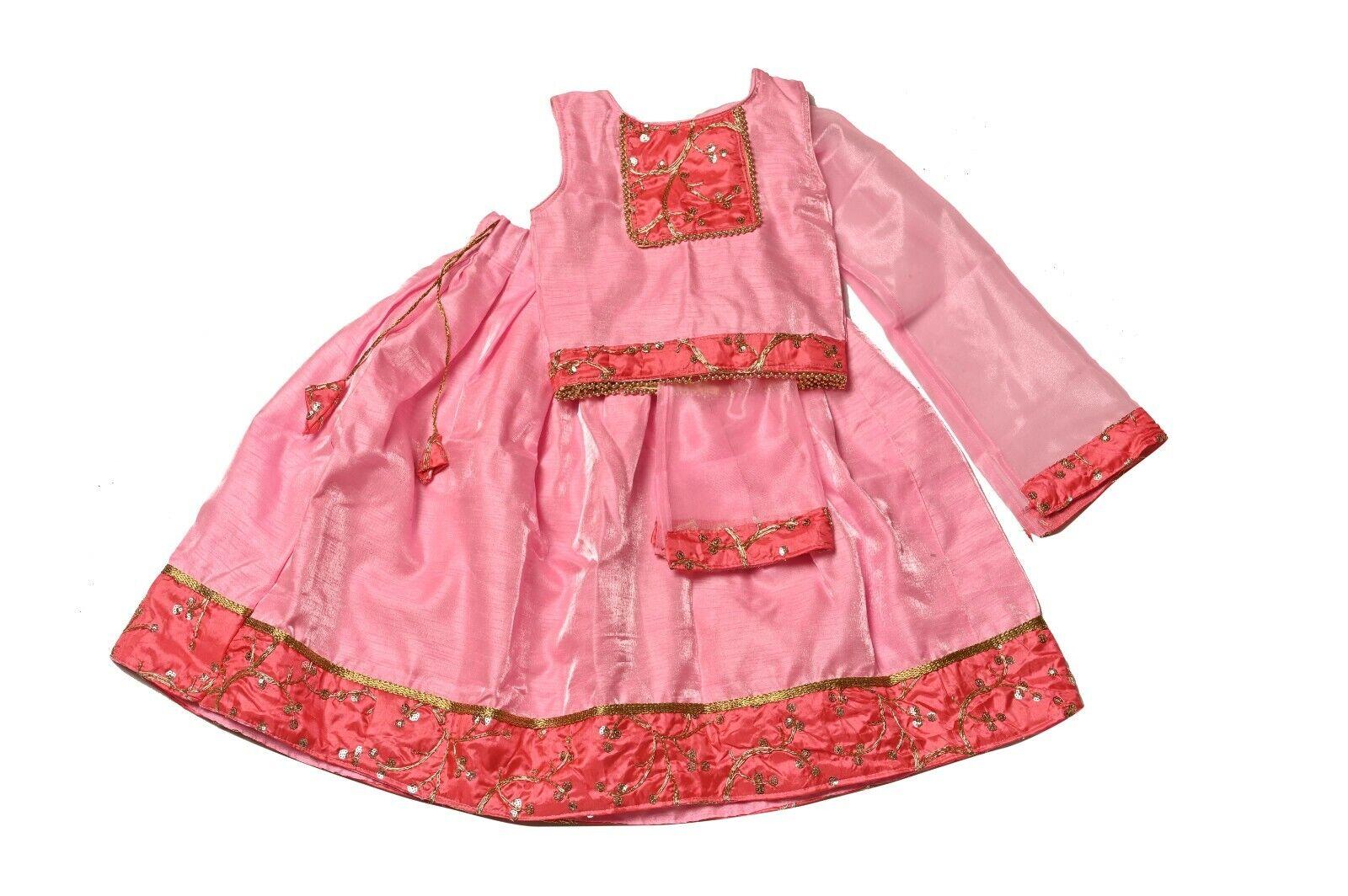 Traditional Festive Lehenga Choli ,Small Girls Lehenga, New Born Baby Dress,