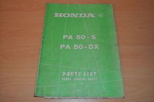 Dx Honda Genuine Parts Herausragende Eigenschaften S Pa 50 100% QualitäT Ersatzteilkatalog Parts List Honda Pa 50