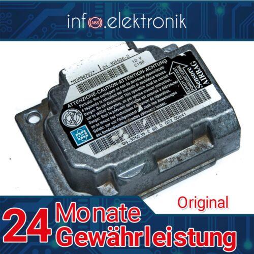Airbag Steuergerät 60656767 04-305536-2 ALFA ROMEO 156