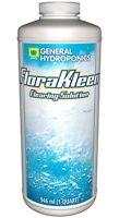 General Hydroponics Florakleen Qt - Mineral Salt Clearing Solution , New, Free S