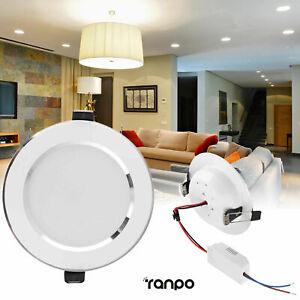 Dimmable 3W 5W 7W 9W 12W 15W 18W LED Encastré Plafond Downlight Panel Light