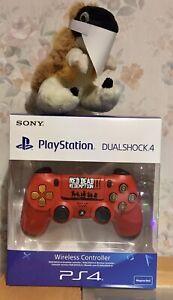 Cowboy personalizados Rojo Negro DualSock 4 controlador PLAYSTATION PS4 muerto...