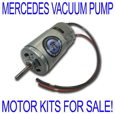 92 93 94 95 96 97 1397220145 1408003148 Mercedes Vacuum Pump Motor KIT FOR  SALE | eBay