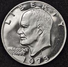 1973-s Eisenhower Dollar.  Gem Proof.  40% Silver.  106502