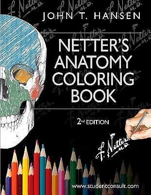 Netter's Anatomy Coloring Book: with Student Consult Access, 2eNEW & SEALED
