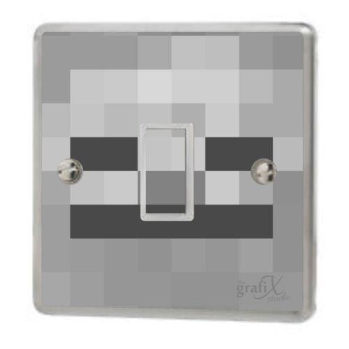Vinilo pegatina de interruptor de luz de cabeza Esqueleto//gráficos//calcomanía//cubierta de piel sw4