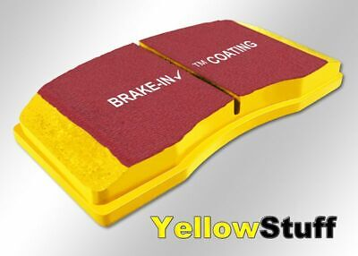 Ebc Yellowstuff Bremsbeläge Vorderachse Brake Pad Dp4836r Groot Assortiment